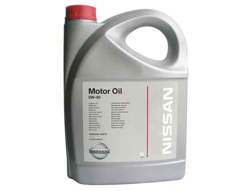 Nissan Масло Nissan Motor Oil 5W 40
